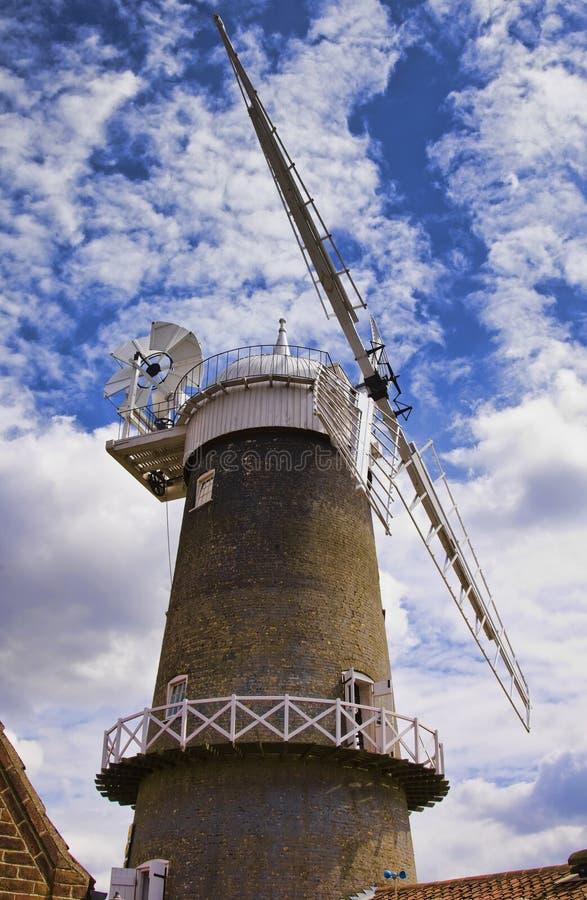 Moinho de vento de Bircham imagens de stock royalty free