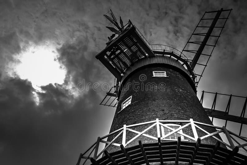Moinho de vento de Bircham imagem de stock royalty free