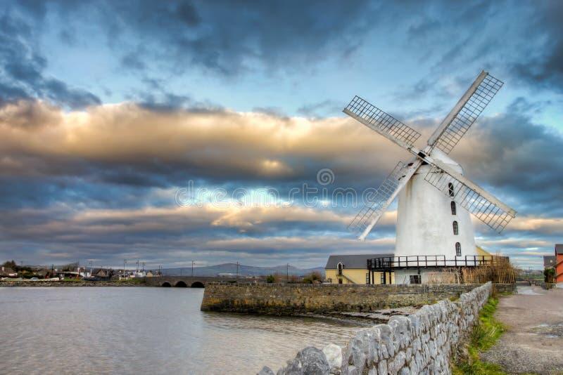 Moinho de vento de Blenerville em Tralee em Ireland. fotografia de stock
