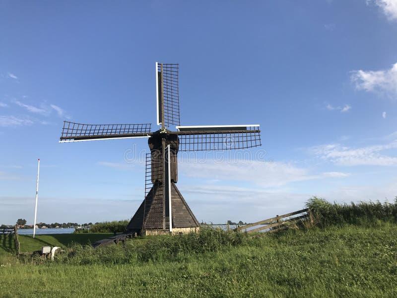 Moinho de vento de Doris Mooltsje fotografia de stock