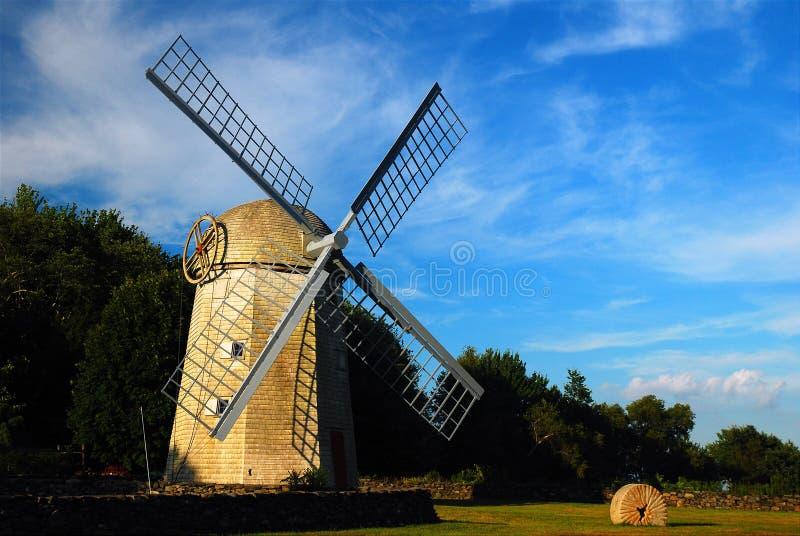 Moinho de vento de Jamestown imagem de stock royalty free
