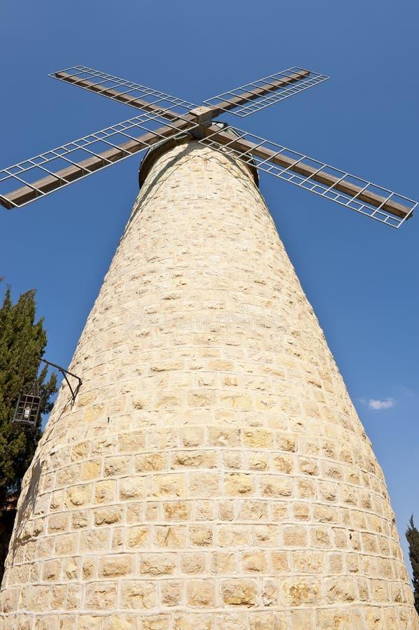 Moinho de vento de Montefiore imagem de stock