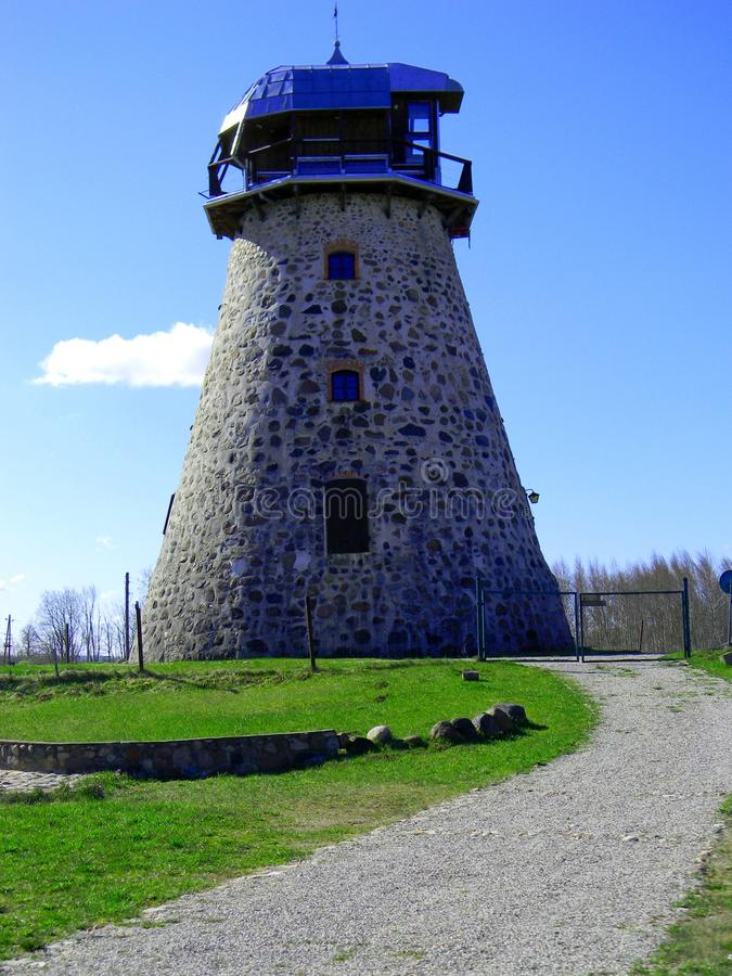 Moinho de vento de Valdgale fotos de stock royalty free