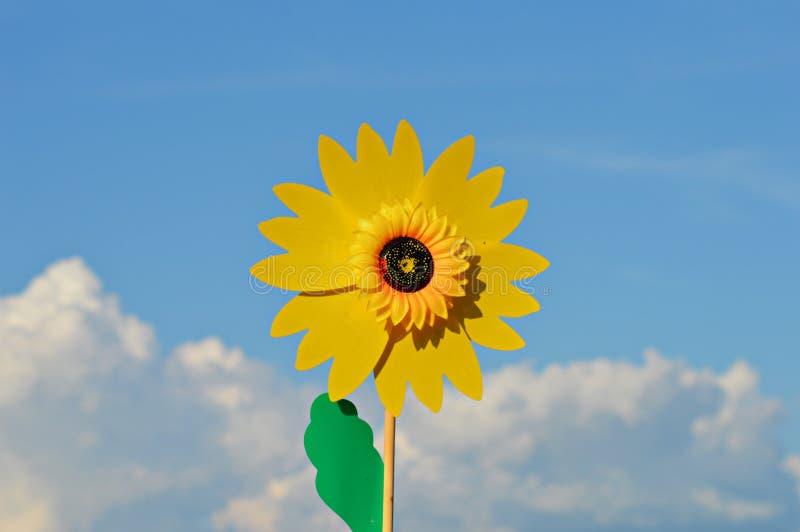 Moinho de vento do jardim fotografia de stock royalty free