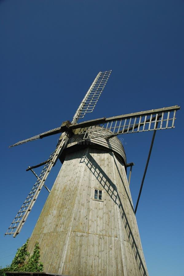 Moinho de vento em Angla imagens de stock royalty free