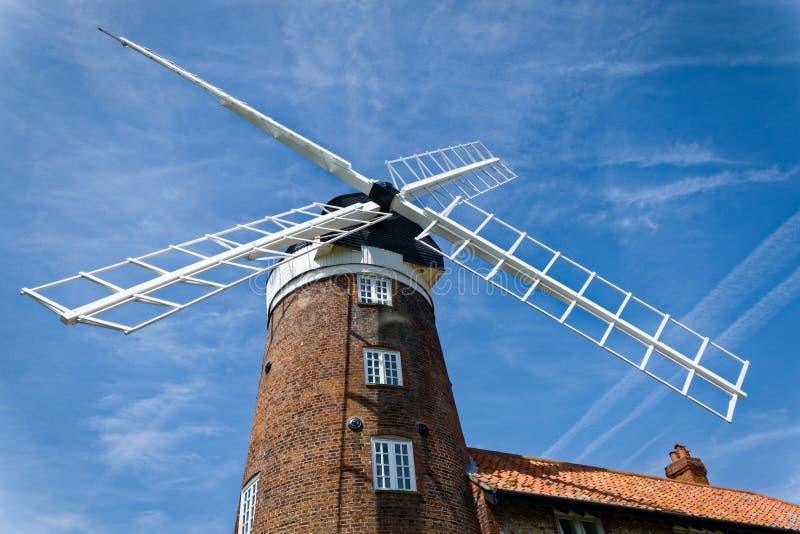 Moinho de vento em Norfolk, Inglaterra imagem de stock royalty free