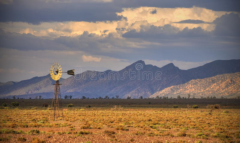 Moinho de vento, escala ocidental da libra, escalas do Flinders foto de stock royalty free