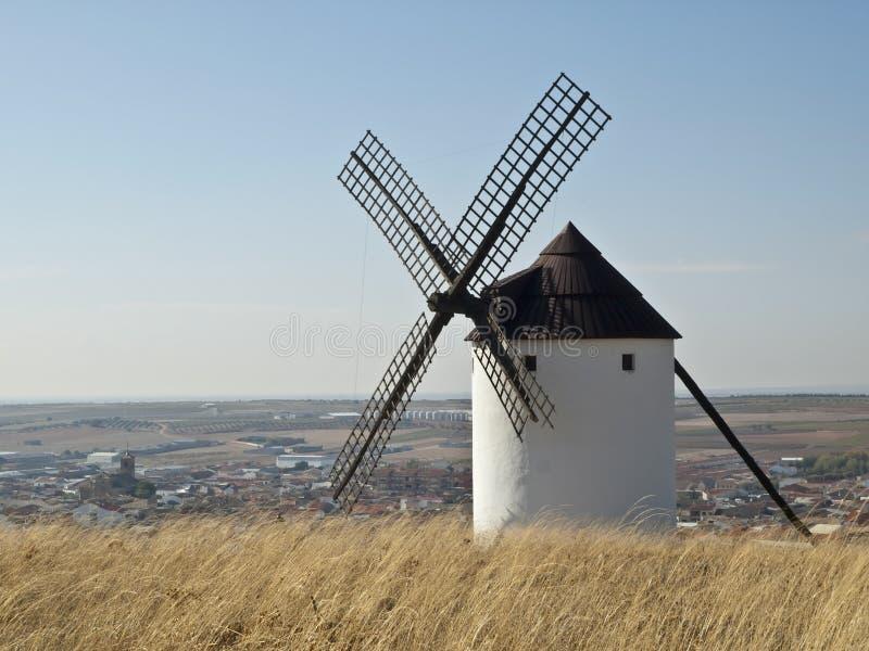 Moinho de vento espanhol fotos de stock