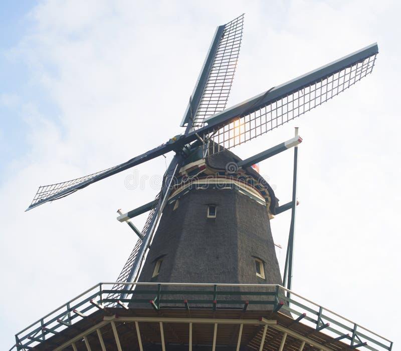 Moinho de vento de De Gooyer imagem de stock