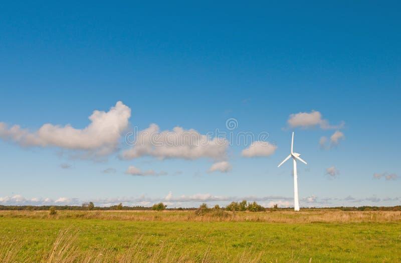 Moinho de vento na natureza foto de stock royalty free