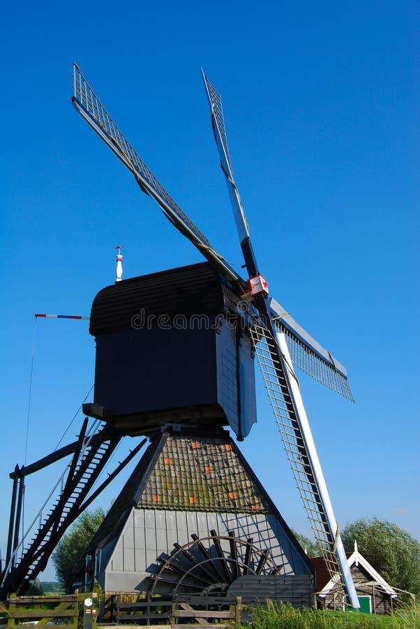 Moinho holandês fotografia de stock royalty free
