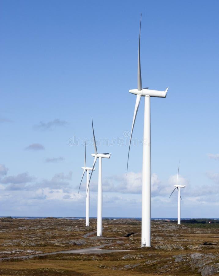 Moinhos de vento imagens de stock royalty free