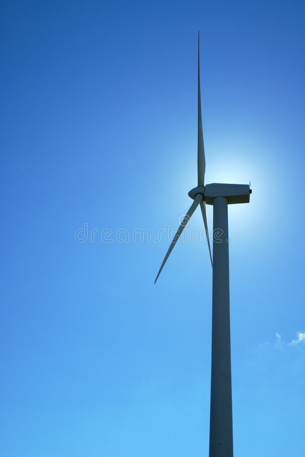 Moinhos de vento, Eolic. foto de stock