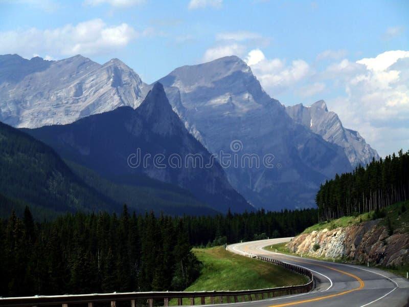 Moins de route déplacée - couleur photographie stock