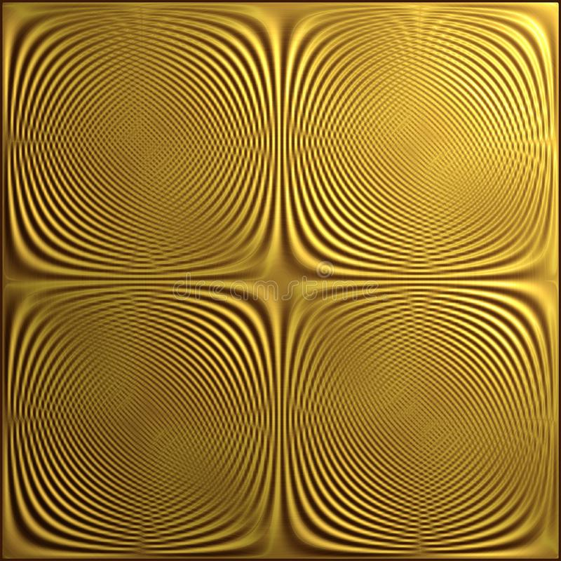 A Moire Pattern Formed by Two Sets of Lines stock photo