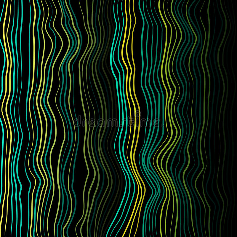 Moiretexturvektor Den snedvred vektorn fodrar färgrik bakgrund Moirevågor Den snedvred vektorn fodrar bakgrund stock illustrationer