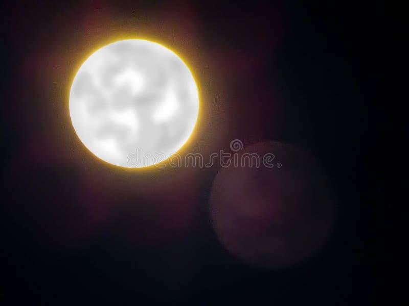 Mois d'éclipse photo libre de droits