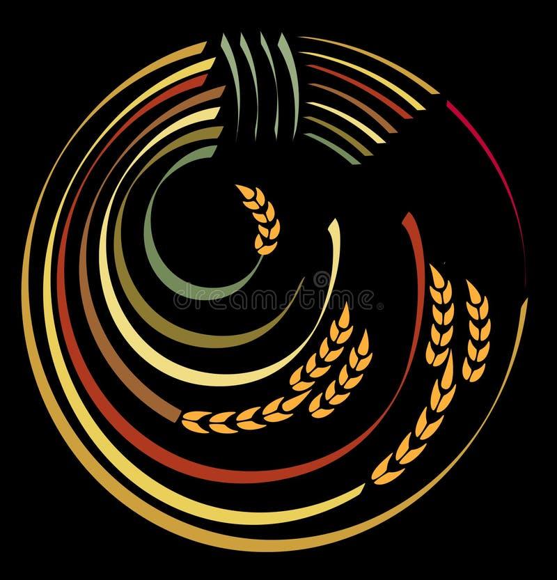 Moisson de logo. illustration libre de droits