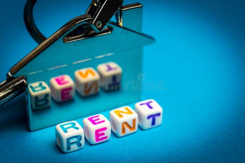 Moisson pour le logement de location Endroit pour votre texte photographie stock