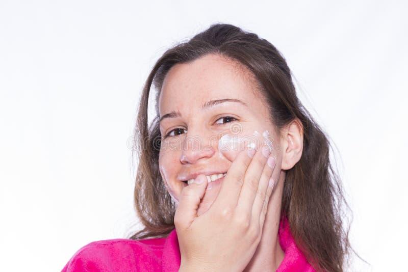 moisturizer royalty-vrije stock afbeeldingen