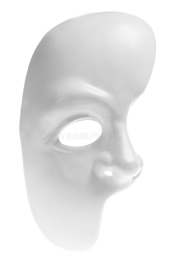 Moitié de masque protecteur photographie stock libre de droits