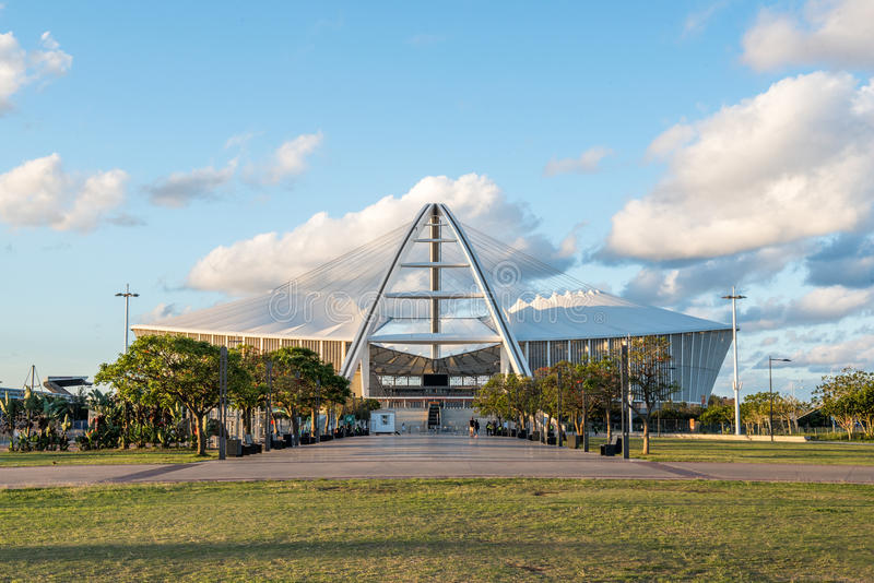 Mojżesz Mabhida stadium Durban obraz stock
