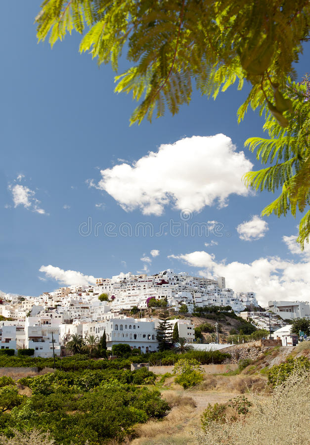 Download Mojacar Village In The Sunshine, Spain Stock Photo - Image: 21000740