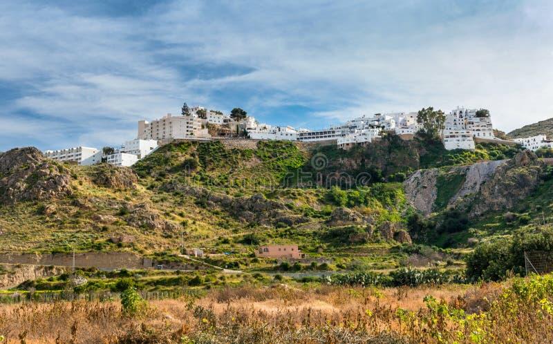 Download Mojacar wioska obraz stock. Obraz złożonej z szczyt, hiszpania - 28956607