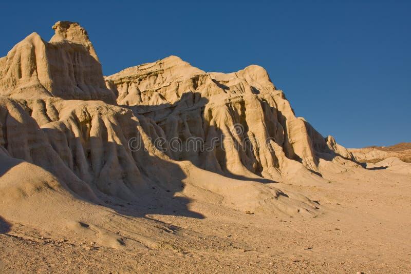 Mojave desert. Sand rocks at Mojave desert, California, USA stock image