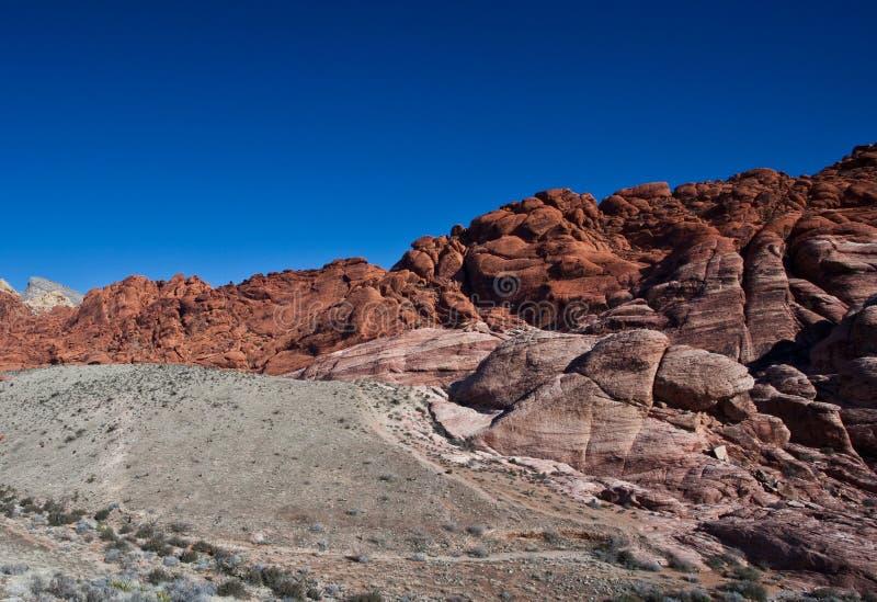 Mojave Desert. Photograph of the Mojave Desert just outside Las Vegas royalty free stock photos