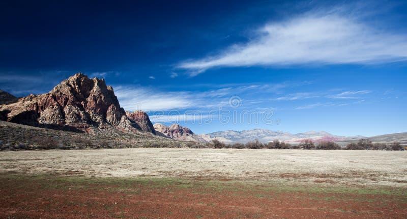 Mojave Desert. Photograph of the Mojave Desert just outside Las Vegas stock photos