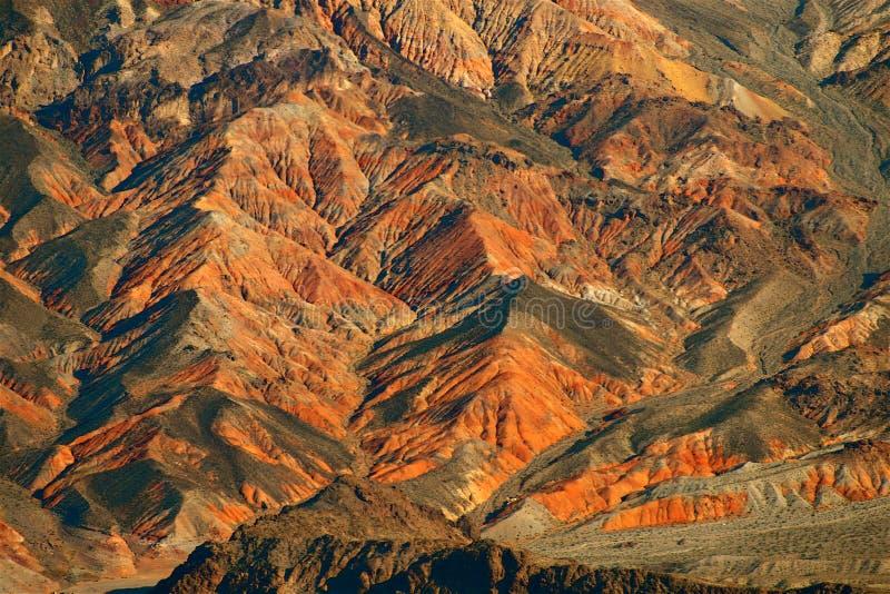 Mojave Desert. Aerial photo of the Mojave Desert in Nevada royalty free stock photo