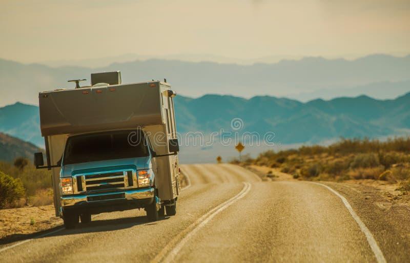 Mojave pustyni RV wycieczka obrazy stock