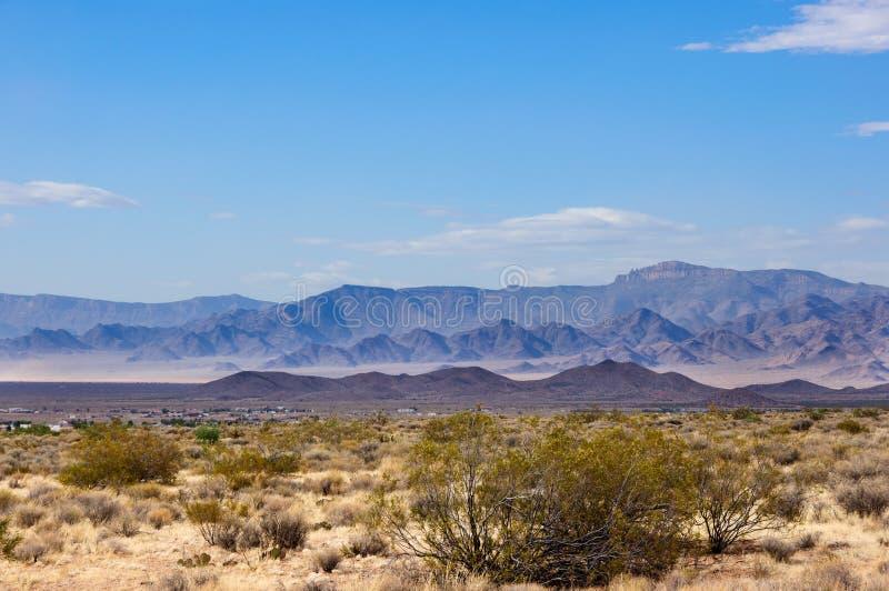 Mojave pustynia w Arizona, usa zdjęcie royalty free