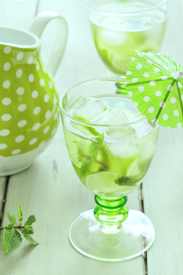 Download Mojito stock image. Image of lime, party, misted, cool - 25371133