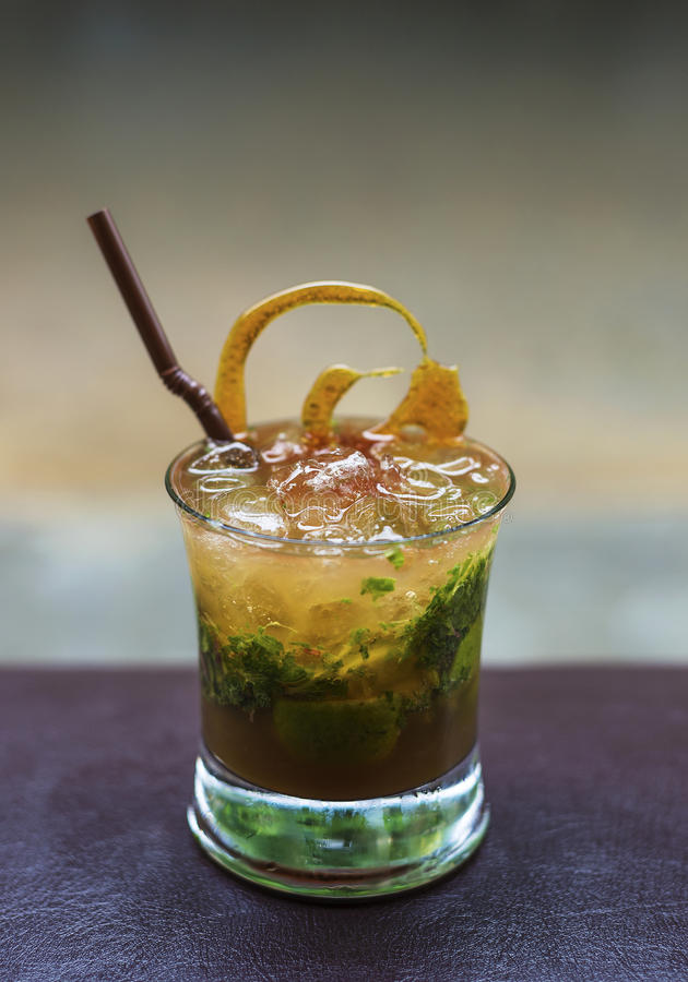 Mojito Alcoholic Cocktail Drink Stock Images