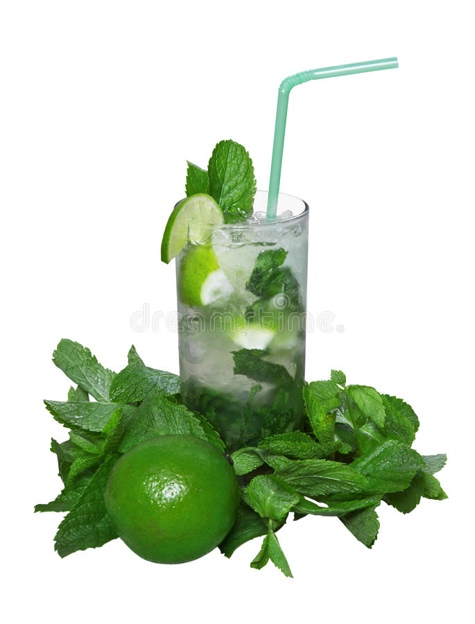 Download Mojito cocktail stock image. Image of drink, exotic, lemon - 14860429