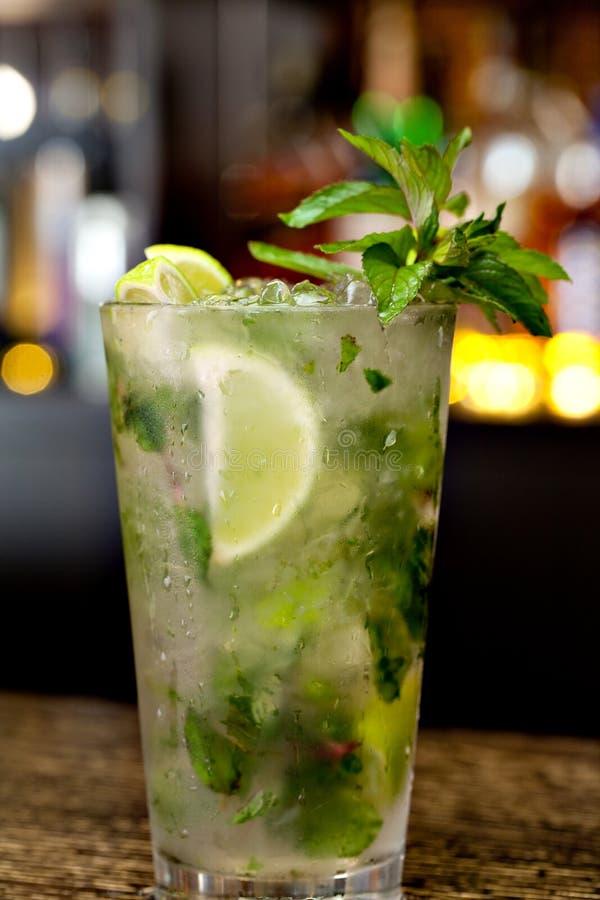 Mojito-Cocktail stockfoto