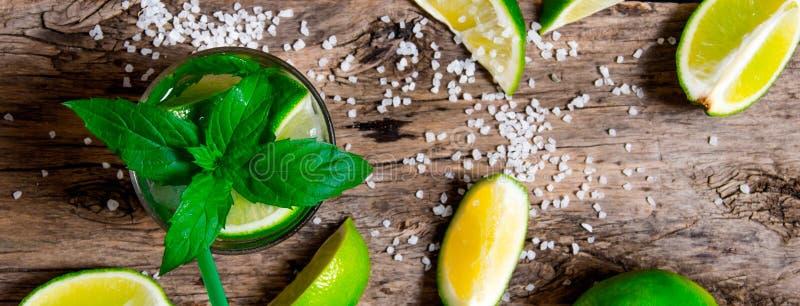 Mojito cocktail imagens de stock
