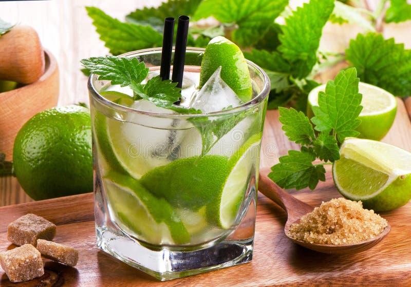 Mojito cocktail photo stock