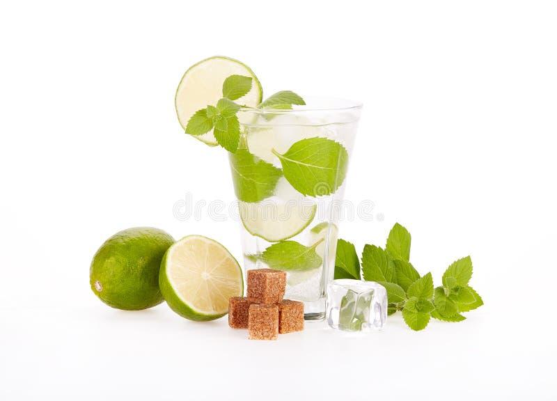 Mojito cocktail stockbild