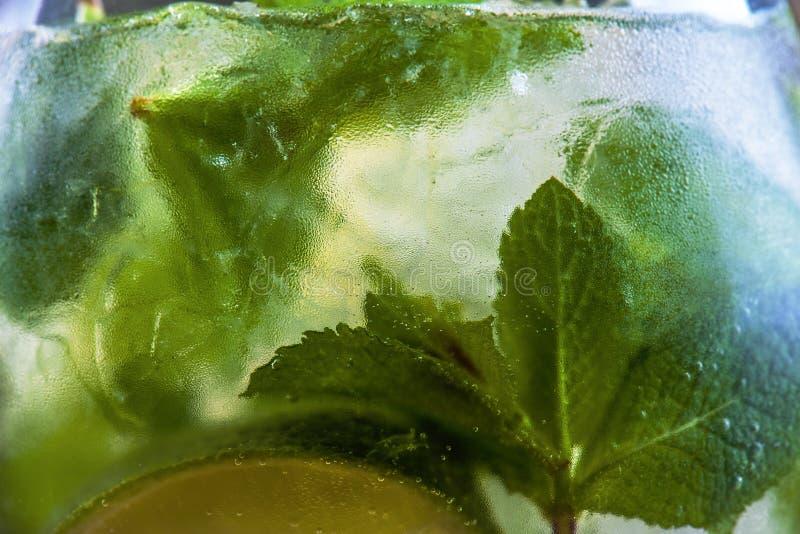 Mojito Cocktail. Close-up of Mojito Cocktail royalty free stock image