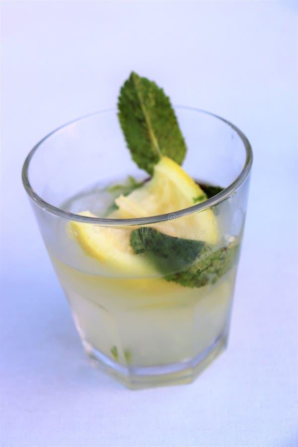 Mojito est une boisson classique images libres de droits