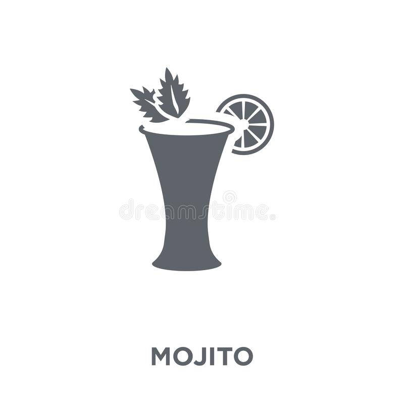 Mojito icon from Drinks collection. vector illustration
