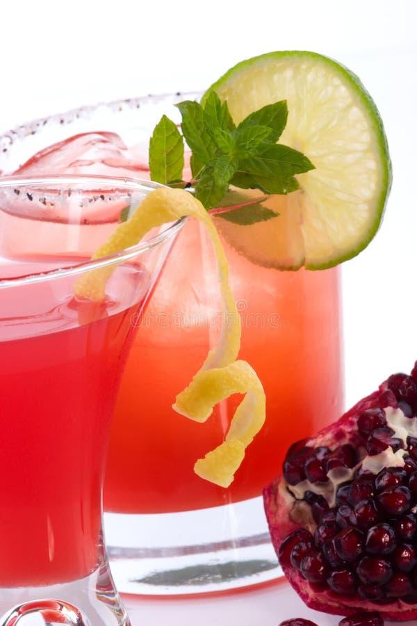 mojito martini крана большинств pomegranate популярный стоковые изображения