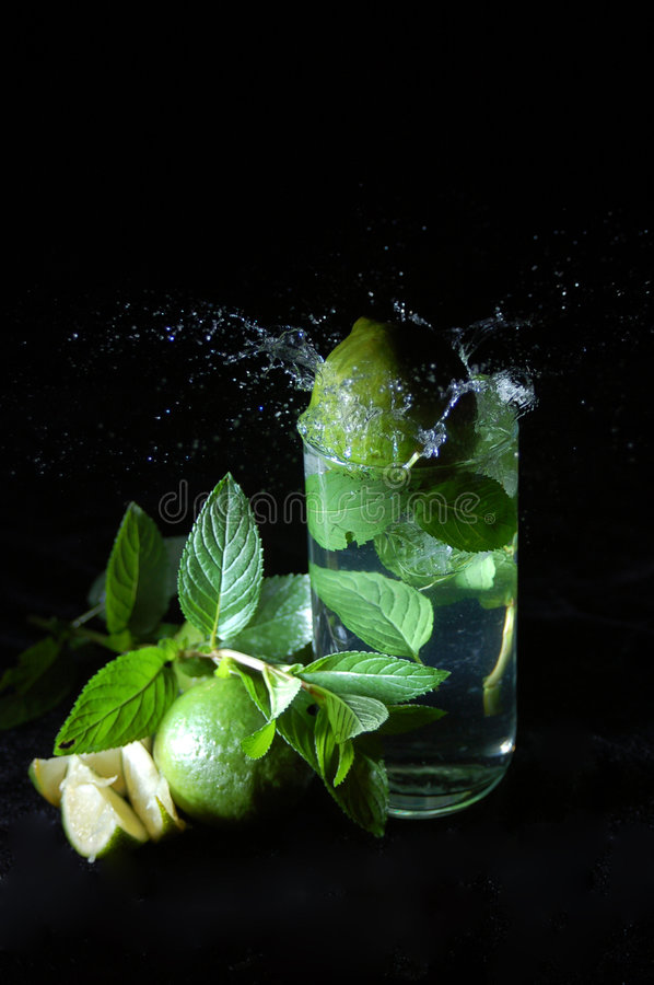 Mojito Splash stock photos