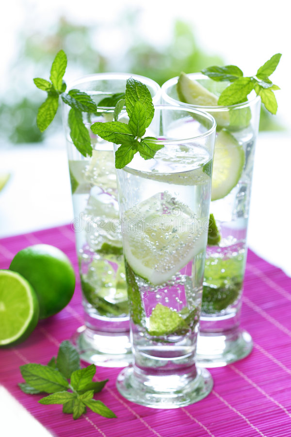 Mojitos royalty free stock photo