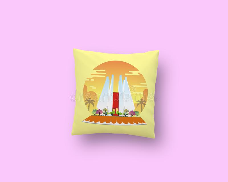 Mojokerto& x27; подушка s стоковое изображение
