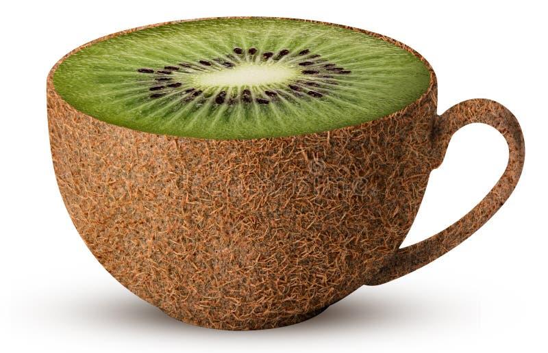 Mok kiwifruit royalty-vrije stock foto
