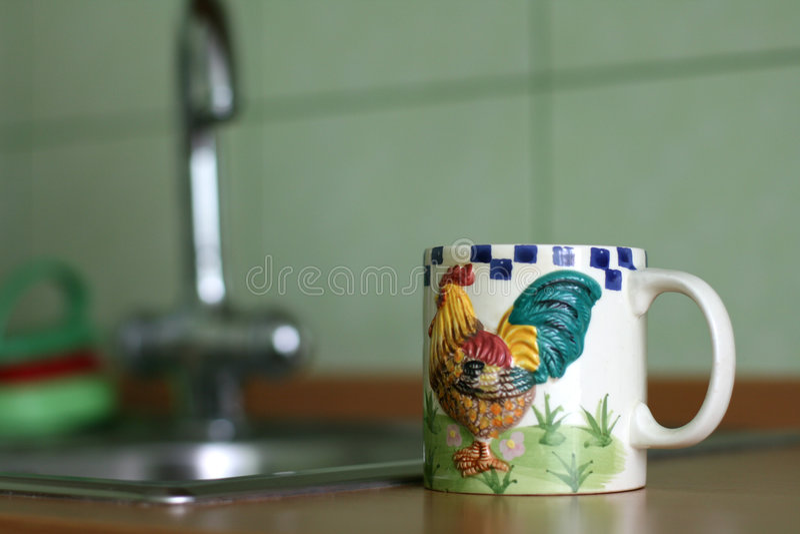 Mok voor thee stock fotografie